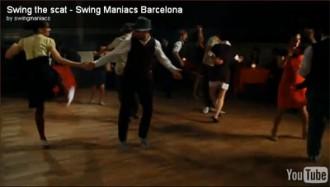 Swing Maniacs al Videoclip de Mercedes Sayas!