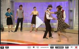Swing Maniacs en Els Matins de TV3