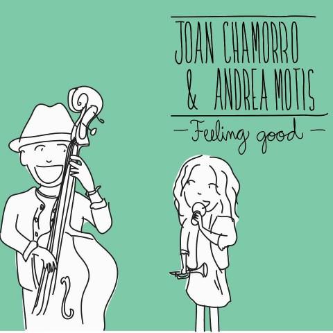 DISSENY DEL CD DE JOAN CHAMORRO & ANDREA MOTIS