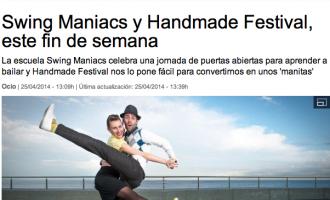Swing Maniacs sale en La Vanguardia!