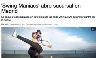 La Vanguardia: 'Swing Maniacs' abre sucursal en Madrid