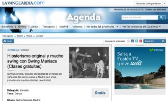 ¡Salimos en la Agenda de La Vanguardia!