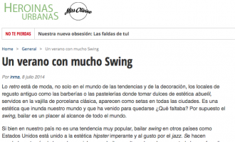 A summer with swing