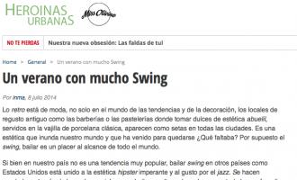 Un estiu amb molt de swing