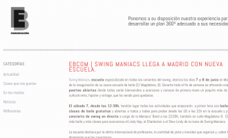 Swing Maniacs opens in Madrid