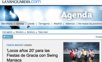 'Locos años 20' para las Fiestas de Gracia con Swing Maniacs