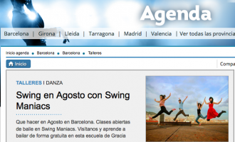 Swing a l'agost amb Swing Maniacs