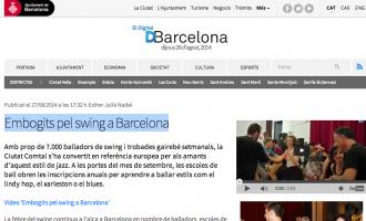 El Digital: 'Locos por el swing en Barcelona'