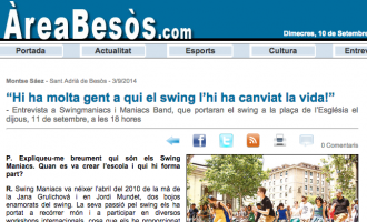 Área Besòs: Swing has changed a lot of people's lives!