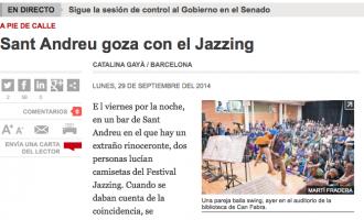 Sant Andreu gaudeix del Jazzing