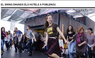 El swing envaeix els hotels de Poblenou