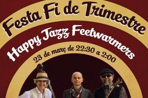 FESTA FINAL DE TRIMESTRE AMB MÚSICA EN DIRECTE!