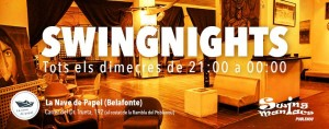 La Nave de Papel Swing Nights! ***Special Jack&Jill***!