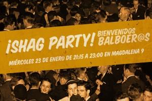 ¡Shag Party! ¡Bienvenidos Balboeros!