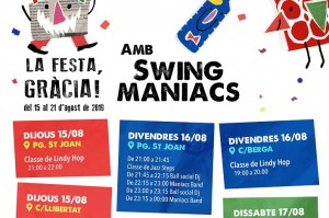 Swing a les Festes de Gràcia!