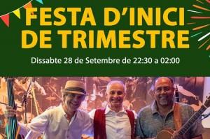 FESTA INICI DE TRIMESTRE I PRESENTACIÓ DELS PROFESSORS!