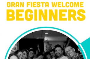 Welcome beginners con clase abierta!