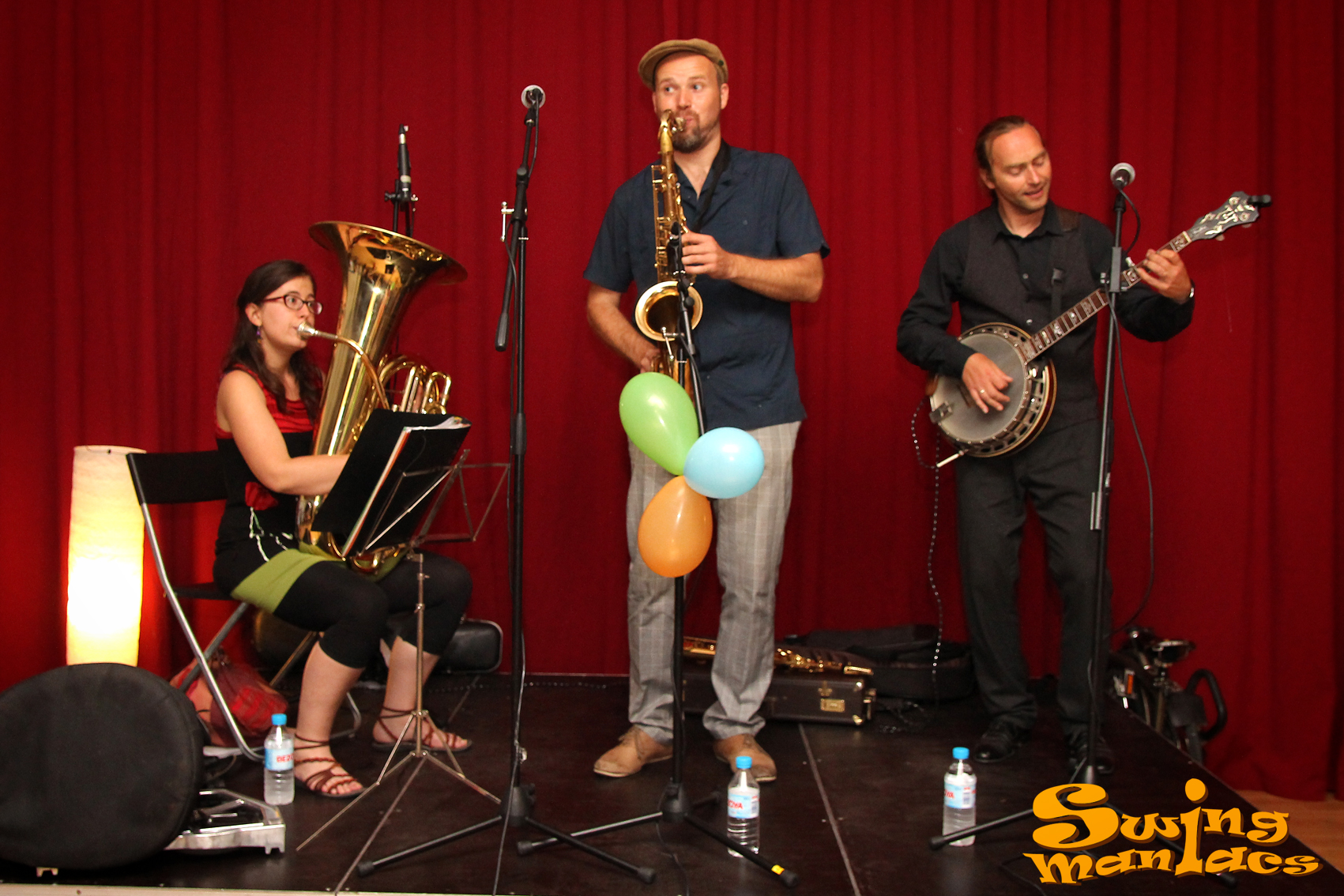 Fotos swing maniacs swing a barcelona apr n a ballar for Swing gracia