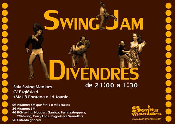 Friday's Swing Jam!