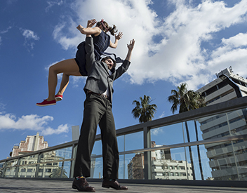 Aerials Lindy Hop