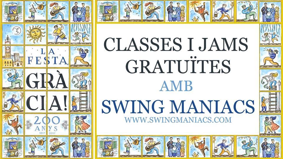 Festes de Gràcia 2017 amb Swing Maniacs!