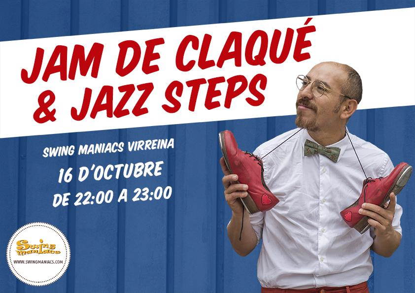 Jam de Claqué i Jazz Steps!