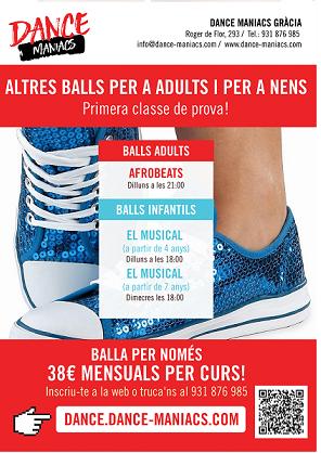 Classes obertes d'altres balls per adults i nens!