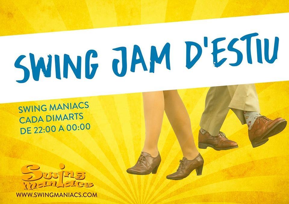 Swing Jam d'Estiu! @ SM Gràcia - Joanic | Barcelona | Catalunya | Espanya