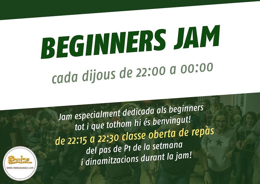 Beginners Jam! @ Swing Maniacs Gràcia | Barcelona | Catalunya | Espanya