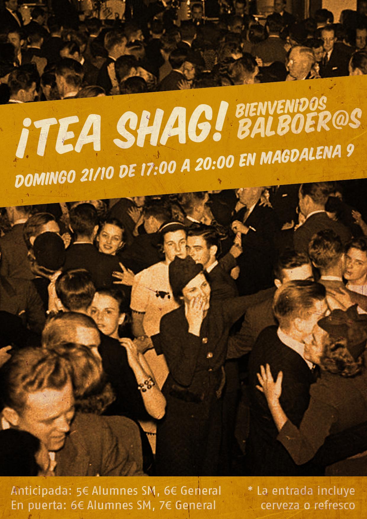 ¡Tea Shag! (bienvenidos balboeros)