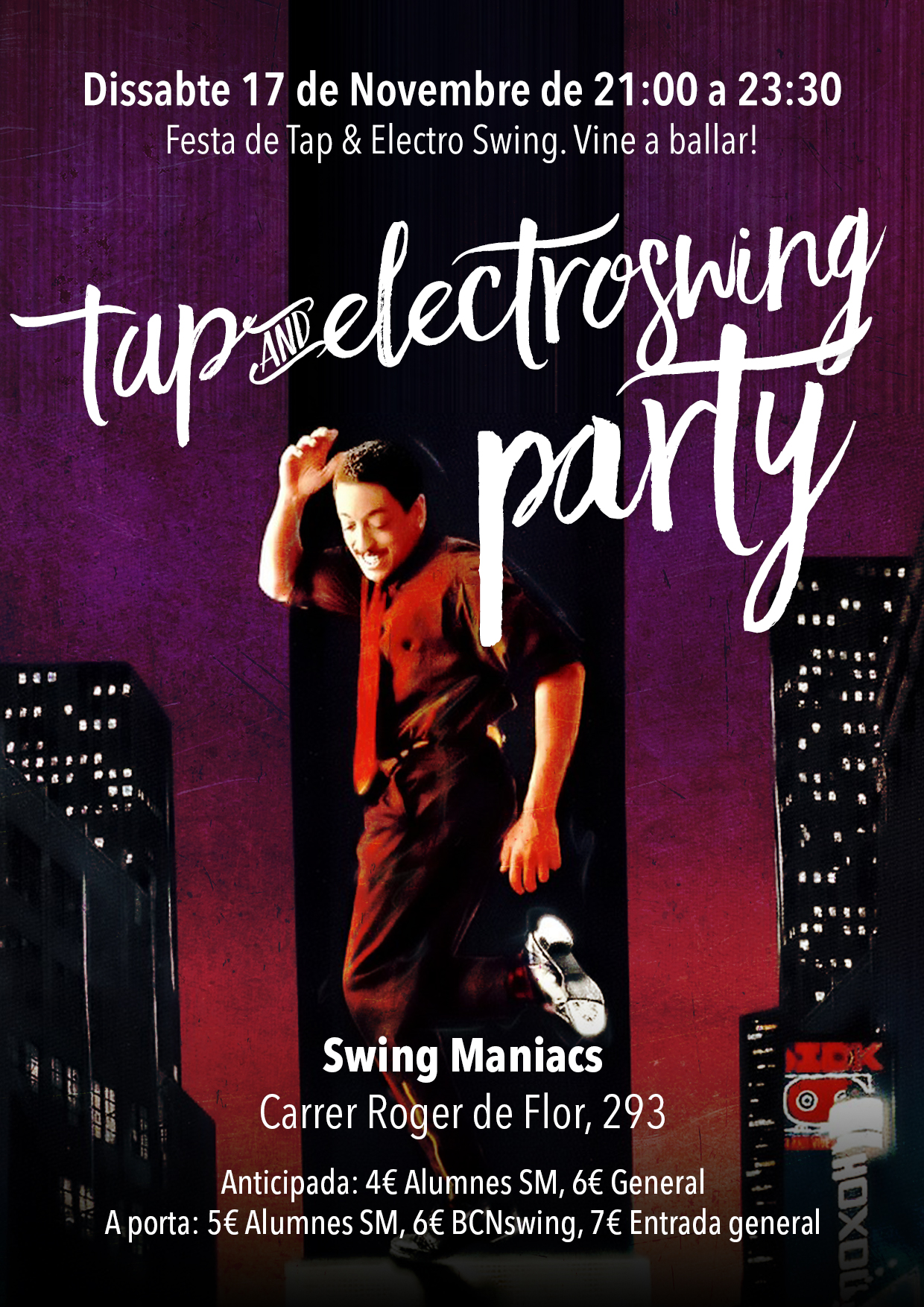 Tap and electroswing Party!