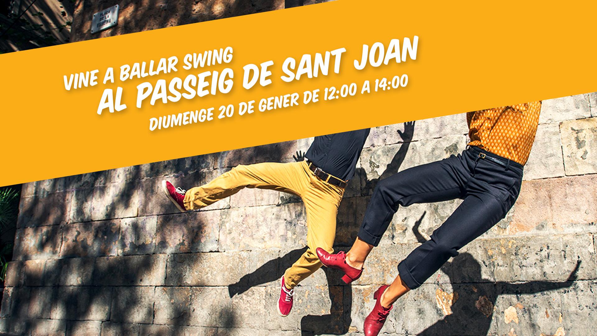 Ball al Passeig de Sant Joan!