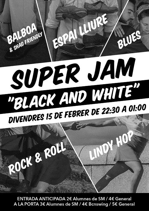 Super Jam (Black and White)!