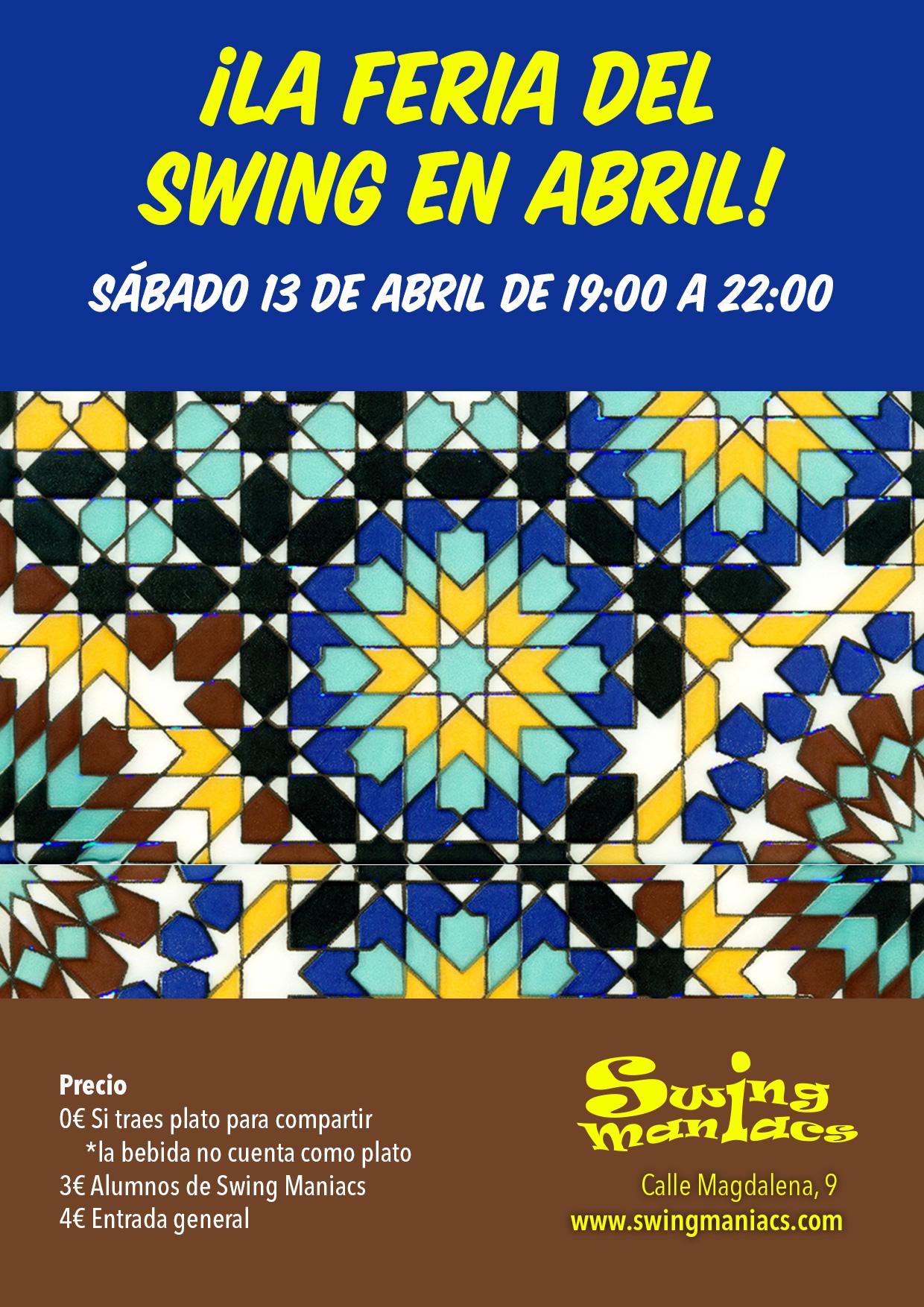 ¡La Feria del Swing en Abril!