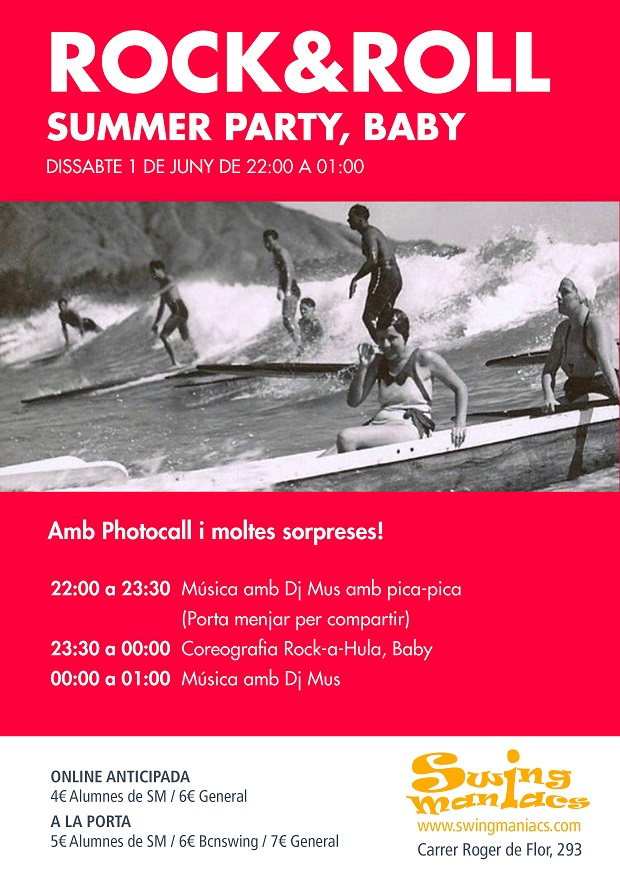 Rock and Roll Party, Summer Rock Baby!