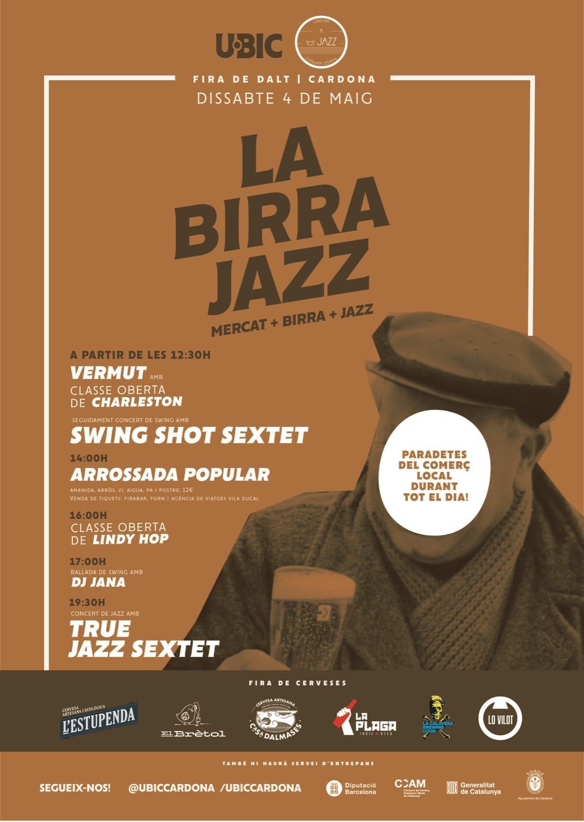 Fira de Cervesa Artesana a Cardona amb molt de Swing!