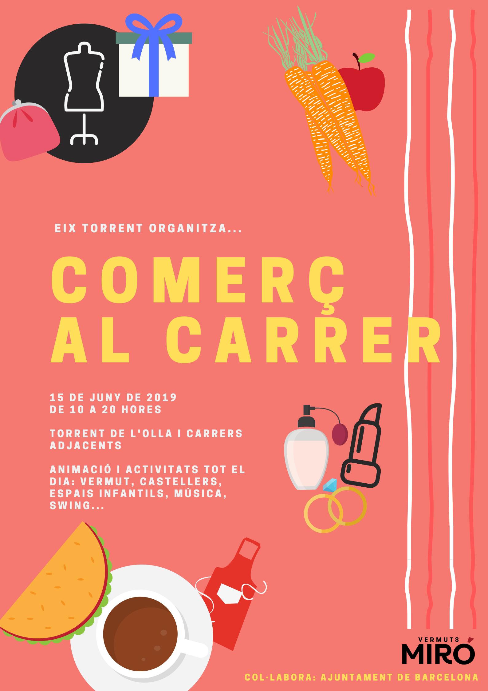 Swing a la Festa del Comerç al Carrer d'Eix Torrent!