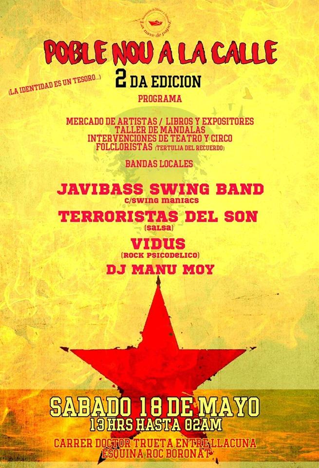Ballada de Swing amb Javibass Swing Band per les Festes de Maig!