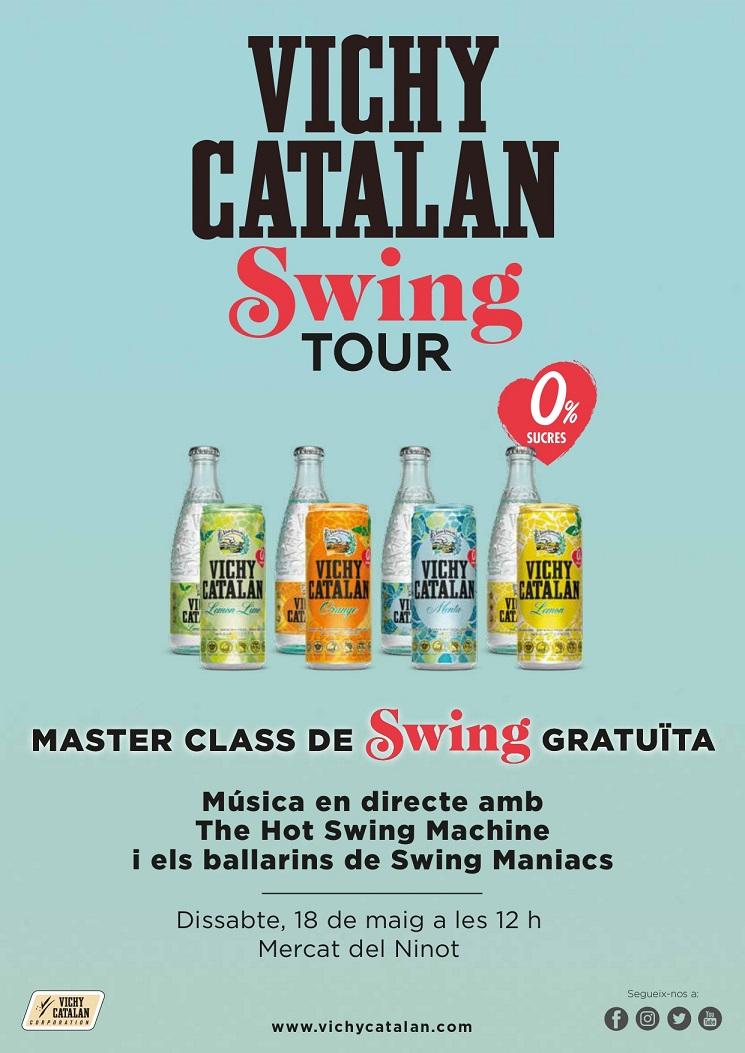 Concert de Swing en el 125è aniversari del Mercat del Ninot!