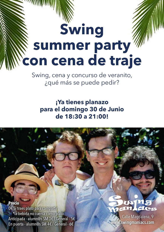Swing Summer Party con Fiesta de Traje!