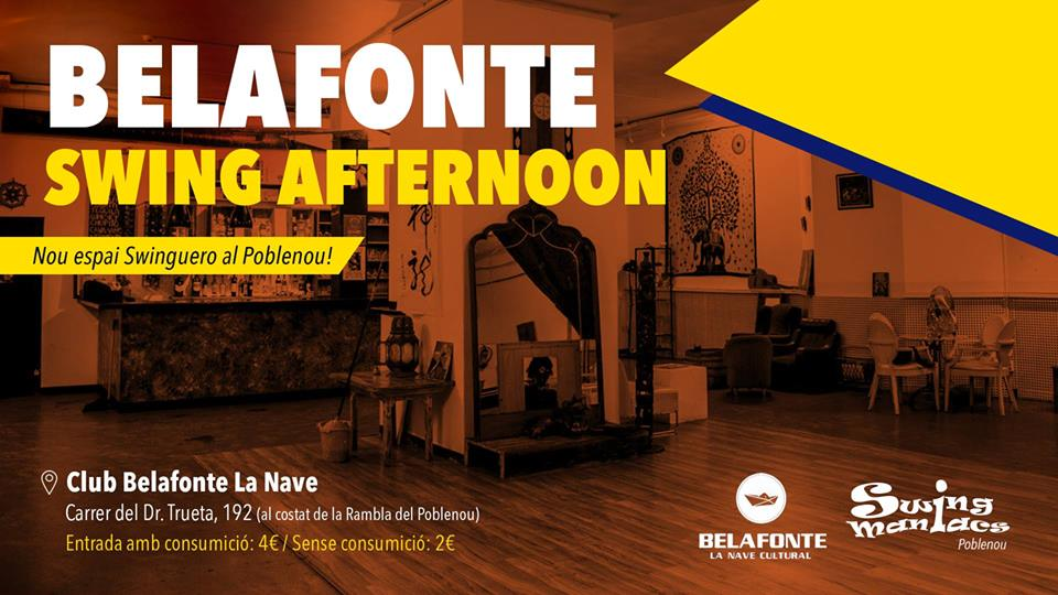 Belafonte Swing Sunday Afternoons!