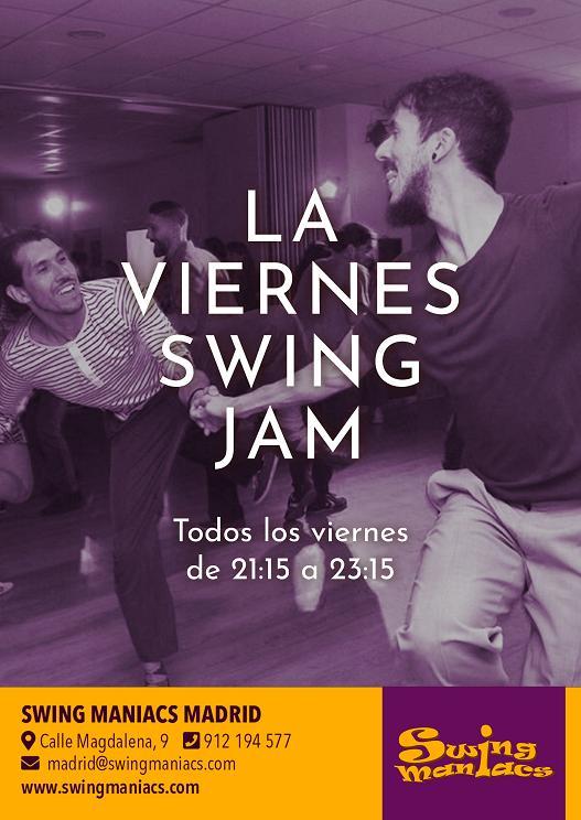 ¡Viernes Swing Jam!