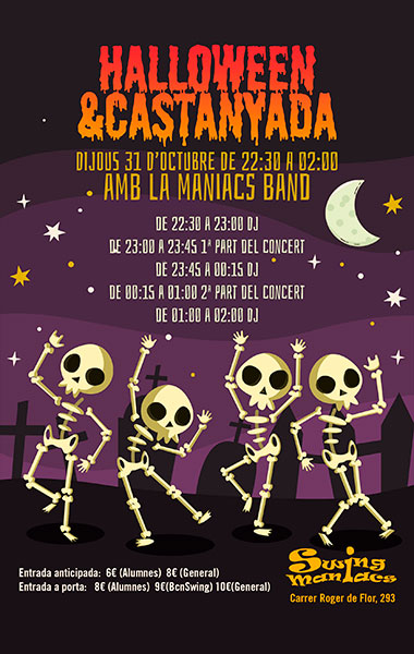 Castanyada Halloween Swing Party!