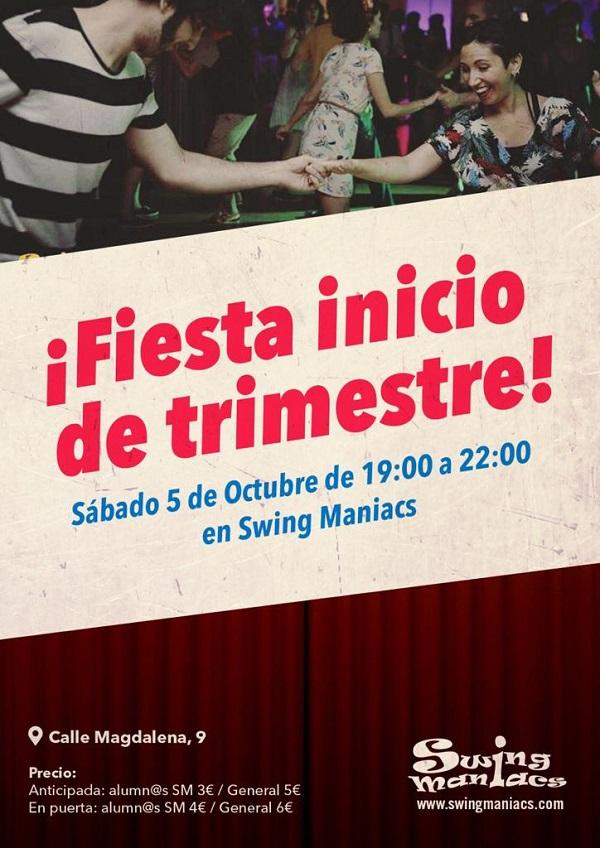 ¡FIESTA INICIO DE TRIMESTRE!