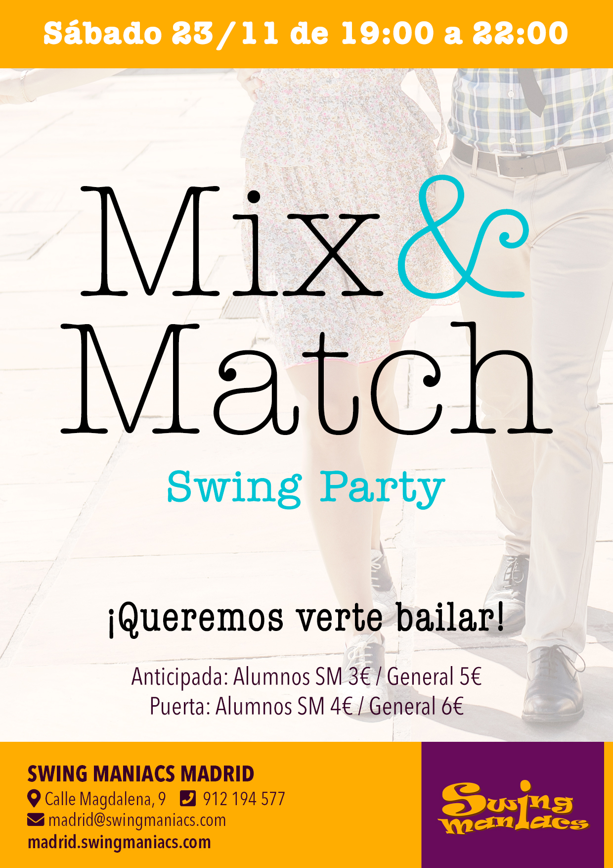 Mix and Match party!