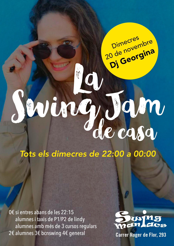 La Swing Jam de Casa!