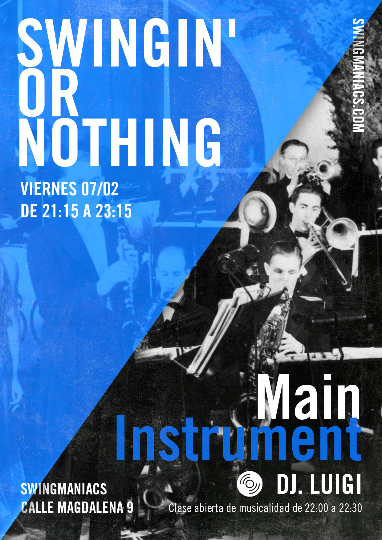 Swingin' or Nothing - Main Instrument!