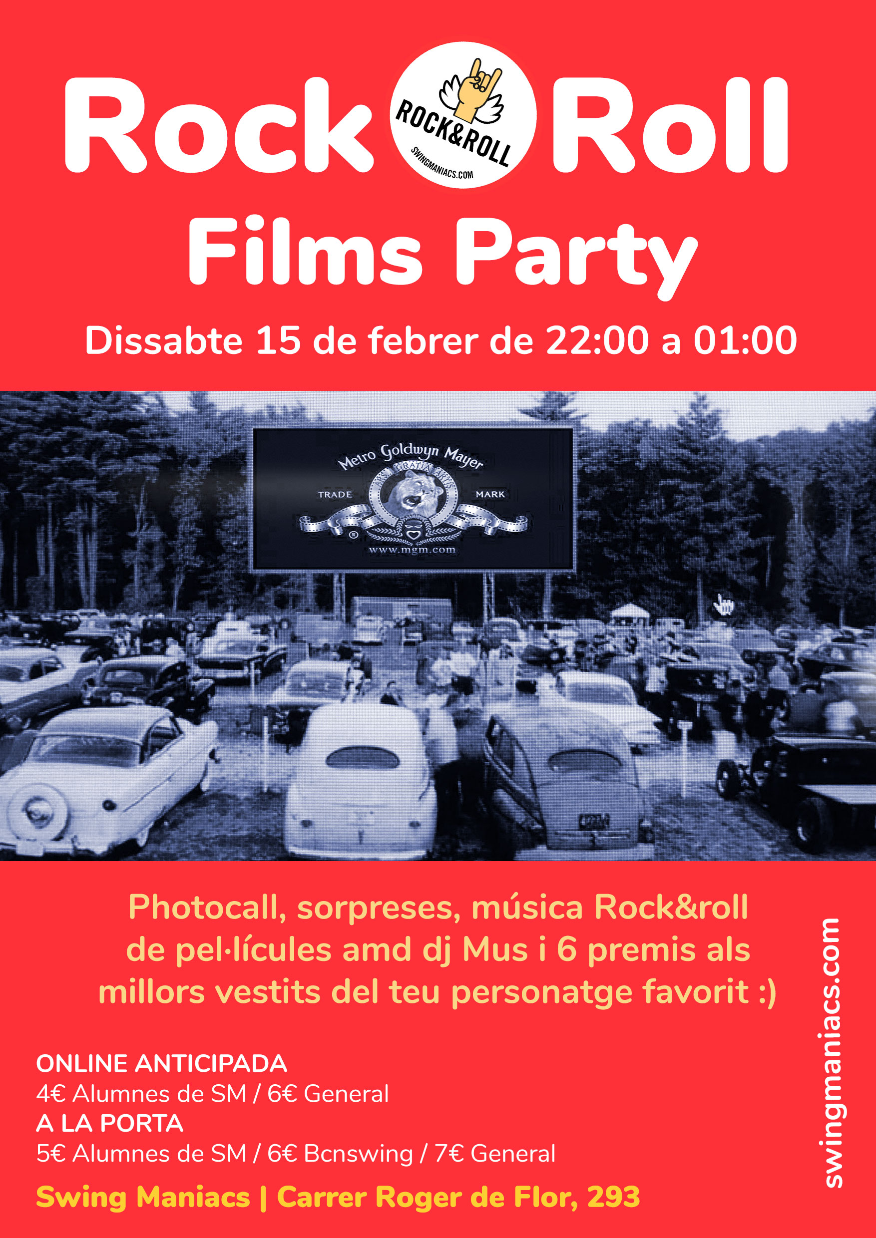 Rock and Roll Films Party!
