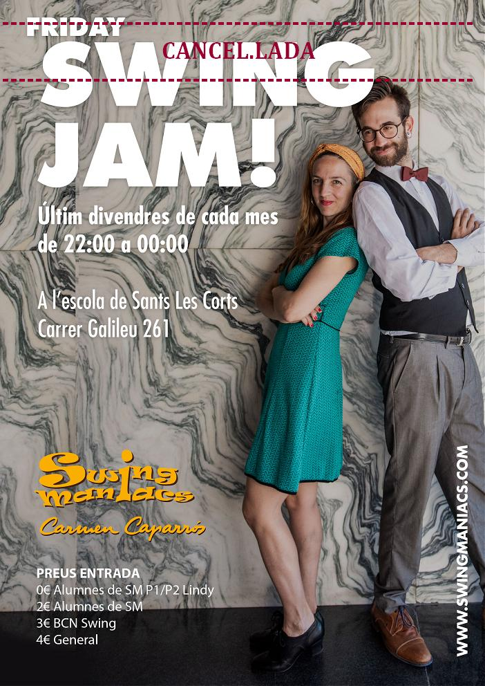 CANCEL.LADA - Friday Swing Jam!