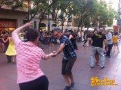 04/08/2012 - Clandestí a la Plaça Revolució!